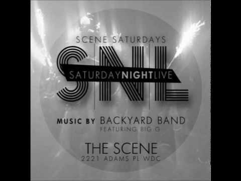 Backyard Band-@Da Scene Crank Sessions 3 2014 Kisses Down Low