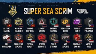 VPT SUPER SEA SCRIM - DAY 2 | MiTH, Refund, Divine, Armory Gaming ... Caster: Uzi ft. Khang Nade