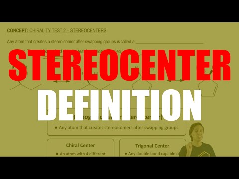 What is a stereocenter?