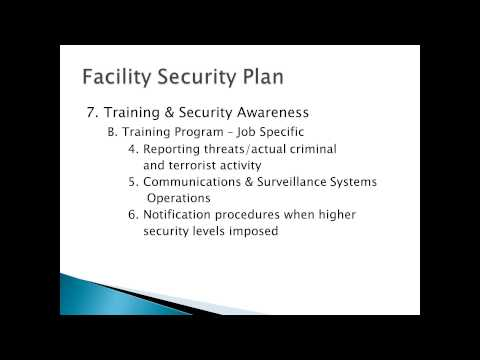 2014 02 28 12 00 CPP Course Physical Security Plan