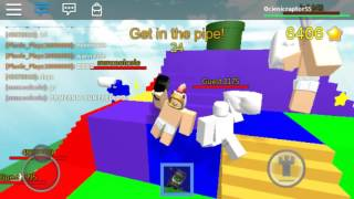 Roblox / Pillow Fight Simulator 2016 / The glitches and the fail