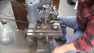 Crossing Out Clock Wheels with a Gorton 3-U Pantograph