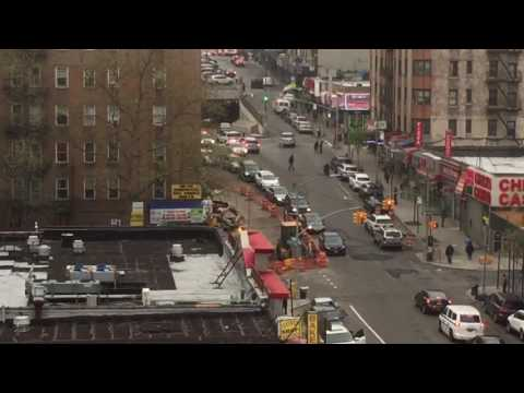 MULTIPLE NYPD CRUISERS RESPONDING TO A 10-85 IN THE SOUTH BRONX