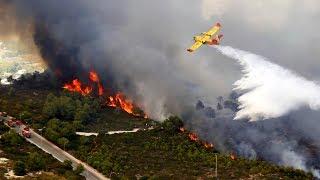 В Испании из-за лесных пожаров эвакуировали более 1500 человек (новости)