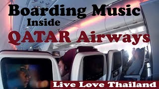 Boarding Music Inside Qatar airways