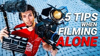 CAMERA TIPS when Filming ALONE
