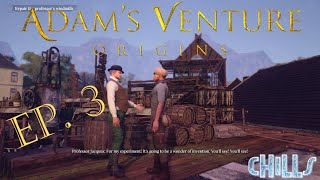 """Adam's Venture Origins Ep. 3 """"Helping the Professor! Coffee Time!"""" PC Gameplay Early Access"""