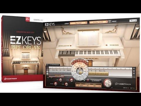 VST Toontrack EZkeys Pipe Organ@Grand Piano