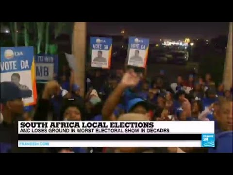 South Africa local elections: ANC loses ground in worst electoral show in decades