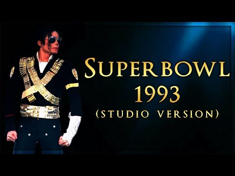 SUPERBOWL 1993 MEDLEY - Live Studio Version (Album Remake) | Michael Jackson