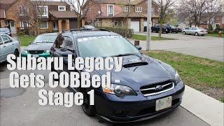 Legacy GT | Stage 1 SF Cobb Tune [Installation Vlog]