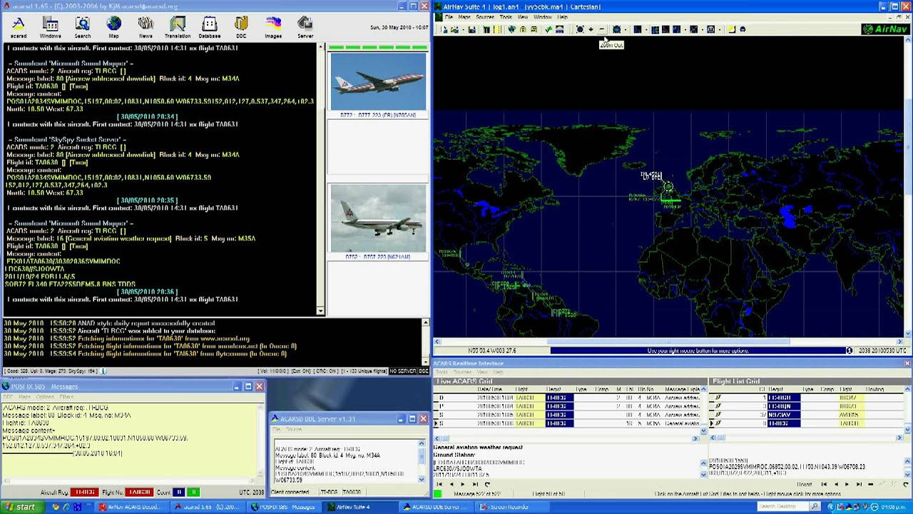 Decoder acars signal acarsd airnav suite 4 youtube - Deco oudersuite ...
