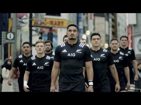 ALL BLACKS #TackleTheRisk #AllBlacks|AIG JAPAN