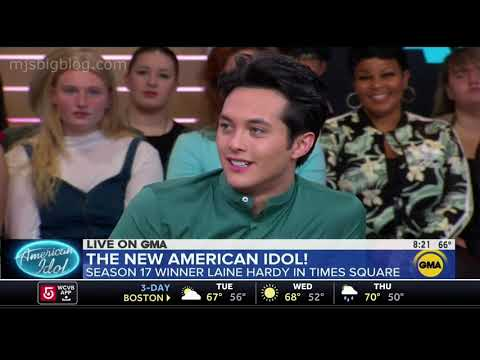 American Idol Winner Laine Hardy Visits Good Morning America