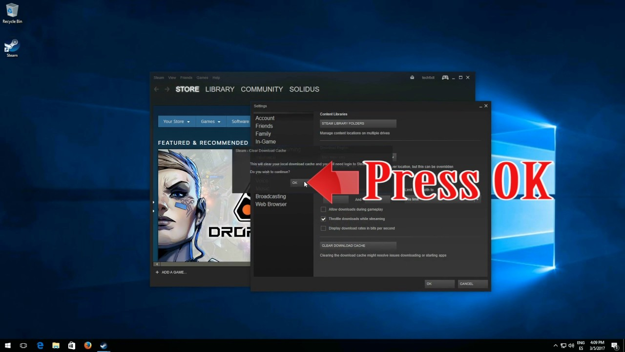 How To Clear Steam Download Cache  Quick And Easy!