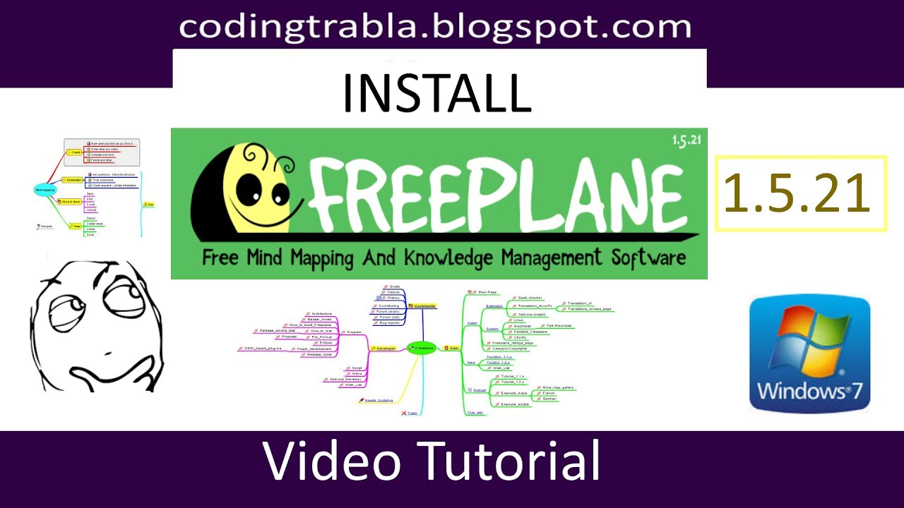 install freeplane 1 5 21 free mind mapping and knowledge