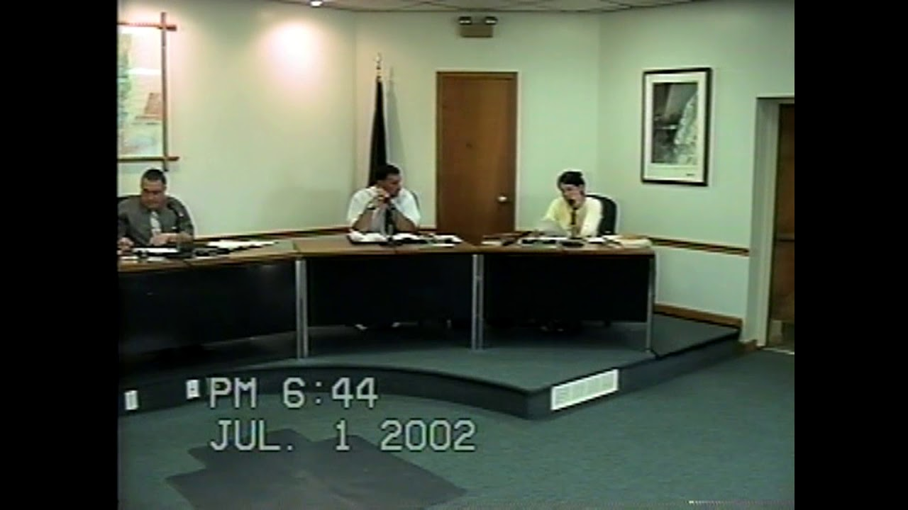 Rouses Point Village Board Meeting  7-1-02