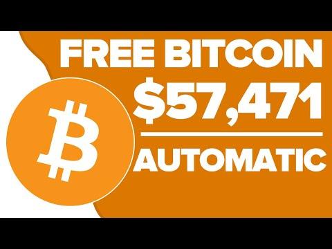 Earn FREE Bitcoin Automatically ($57,471.32) | Earn 1 BTC In 1 Day