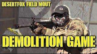DesertFox Airsoft: Demolition Game (Scorpion EVO, WE 416, CA G36K, ICS CXP)
