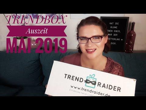 Trendraider Trendbox Auszeit | Unboxing Mai 2019 | Neue Boxenliebe ? ♡