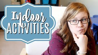 Indoor Activities For Cold/rainy Days | Daycare Day