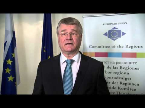 EU Committee of the Regions President Markku Markkula on Multi-Level Governance in the EU