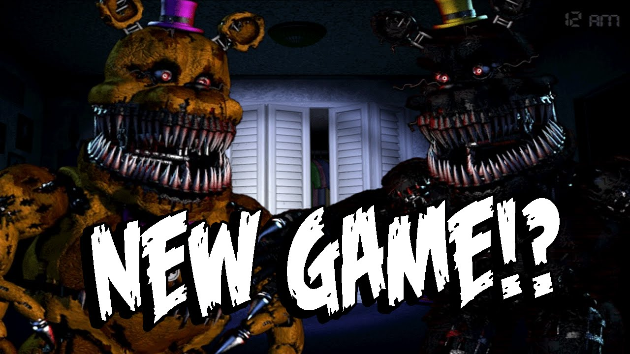Five Nights at Freddy's 4: NEW GAME In The Works?! HALLOWEEN ...