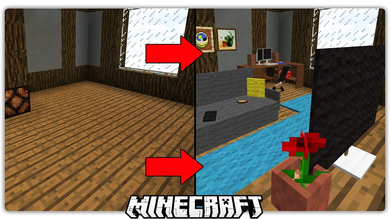 New ways to decorate your minecraft house youtube for Decorate your home