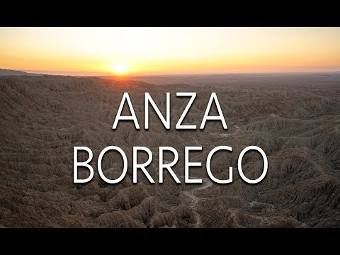 Exploring Anza-Borrego Desert State Park: Font's Point, Sculptures, & Mud Caves