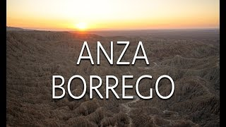Exploring Anza-Borrego Desert State Park: Font's Point, Sculptures,...