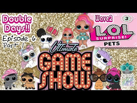 LOL Surprise Series 3 Pets Game Show With Treasure + Lil Treasure Help Open FULL CASE Of Wave 2 Pets