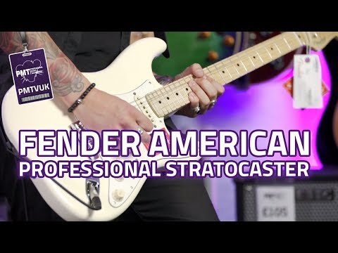 Fender American Pro Stratocaster Review - The New Standard!