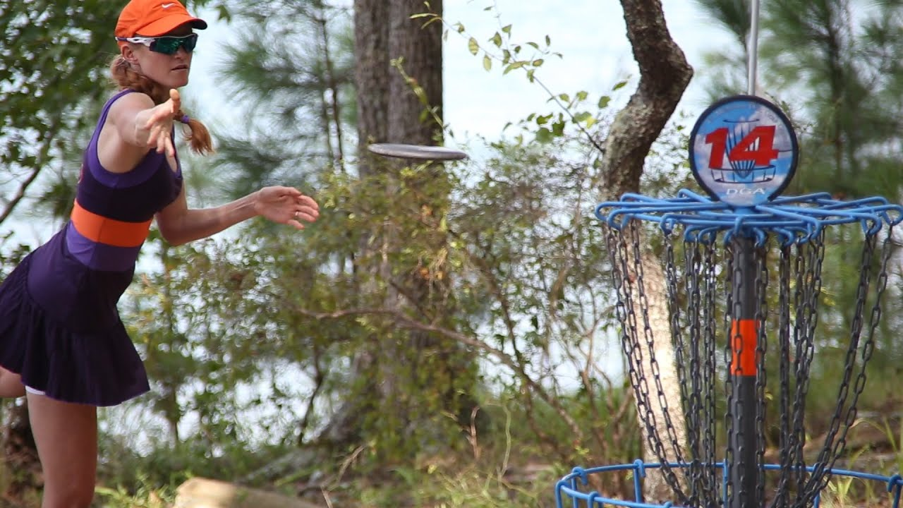 2014 US Women s Disc Golf Championships  Round 1  Andyke  Hokom     2014 US Women s Disc Golf Championships  Round 1  Andyke  Hokom  Finley   Gold    YouTube