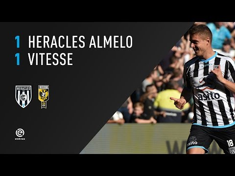 Heracles Almelo - Vitesse 1-1 | 15-10-2017 | Samenvatting