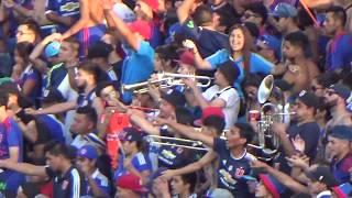Los De Abajo / Udechile vs U.Española 2018 / Salida,Canciones, el gol y mas.