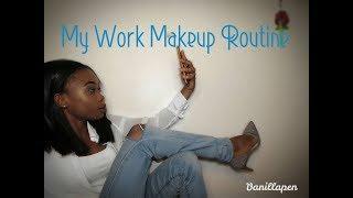 Jinsi ya Kupaka Makeup Ya Kazini My work Makeup Routine Zanzibarian Youtuber