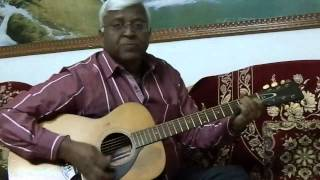 Ye To Sach Hai Ke Bhagwan Hai on Guitar (Chords Version) By Anand Chhangani Jodhpur