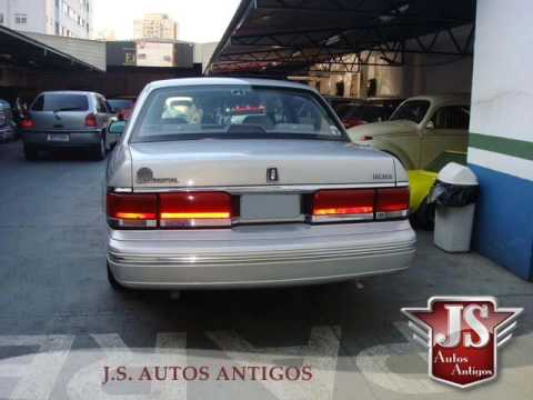 Lincoln Continental 1991 - YouTube