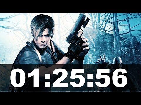 Resident Evil 4 New Game+ Speedrun in 01:25:56 [Xbox 360]