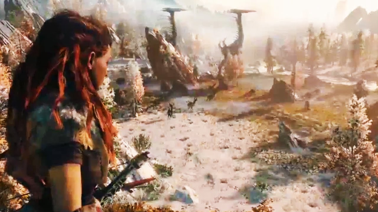horizon zero dawn gameplay full e3 2015 walkthrough horizon gameplay ps4 hd youtube