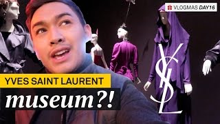 Going to the Yves Saint Laurent Museum! - VLOGMAS Day 16 - ohitsROME