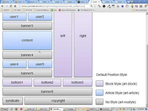 Joomla Templating Guide, Part2, Understanding Joomla Module Positions