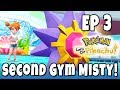 POKEMON LET'S GO PIKACHU EPISODE 3! Cerulean City and Misty Gym Leader 100% Complete Walkthrough!