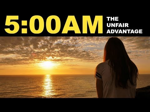 Wake up at 5 AM | Insane benefits of waking up early