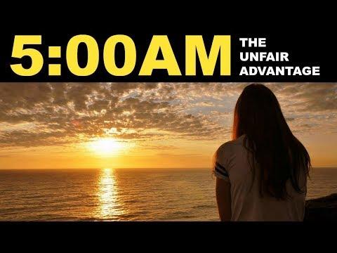 Wake up at 5 AM | Insane benefits of waking up early