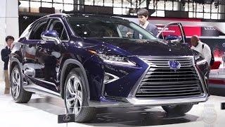 2016 Lexus RX - 2015 New York Auto Show