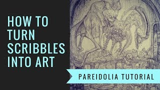 How to Turn Scribbles into Art || Pareidolia Drawing Tutorial