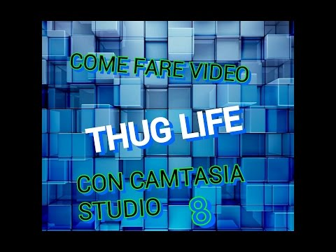 Come Fare Dei Video Thug Life Con Camtasia Studio 8 -NICOBOY