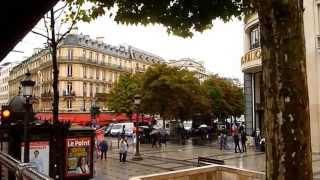 Paris France - Day 2 Walking Around