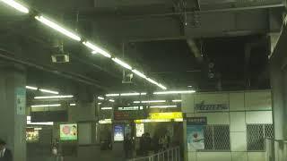 名鉄豊橋駅発車 後ろ展望